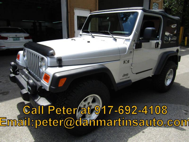2006 Jeep Wrangler for sale at Dan Martin's Auto Depot LTD in Yonkers NY