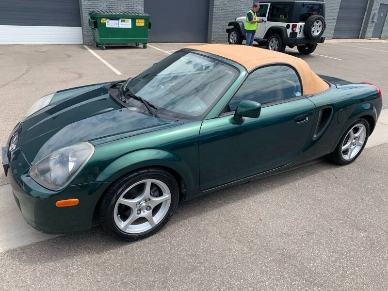 2001 Toyota MR2 Spyder for sale at The Car Buying Center in Saint Louis Park MN