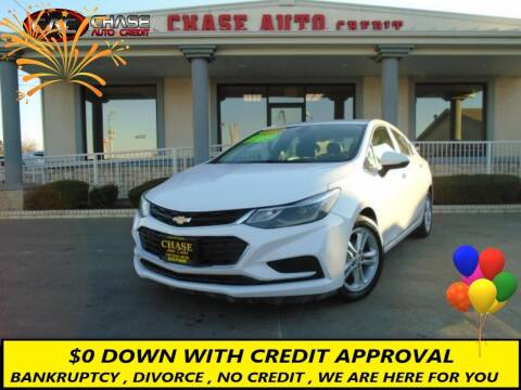2016 Chevrolet Cruze for sale at Chase Auto Credit in Oklahoma City OK