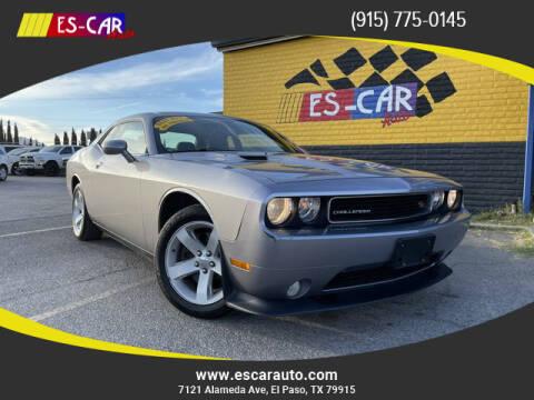 2014 Dodge Challenger for sale at Escar Auto in El Paso TX
