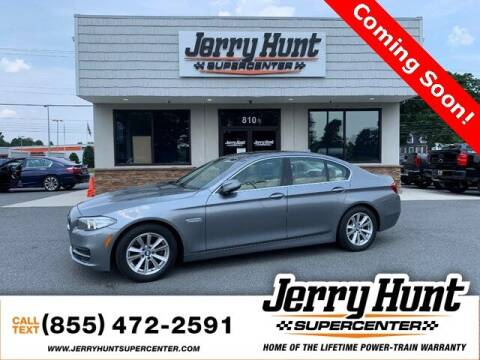 2014 BMW 5 Series for sale at Jerry Hunt Supercenter in Lexington NC