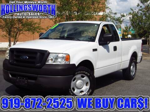 2008 Ford F-150 for sale at Hollingsworth Auto Sales in Raleigh NC