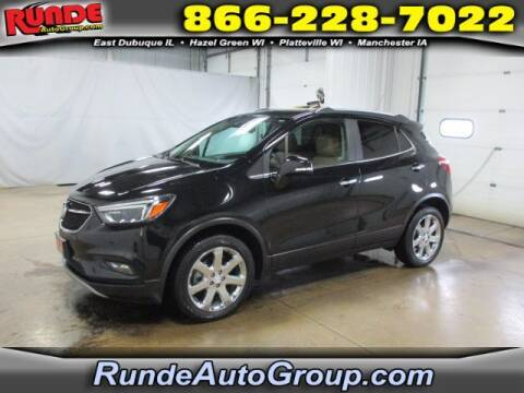 2017 Buick Encore for sale at Runde Chevrolet in East Dubuque IL