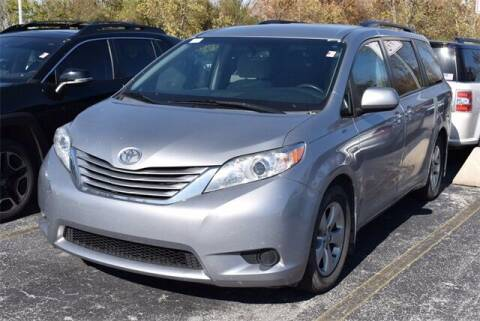 2016 Toyota Sienna for sale at BOB ROHRMAN FORT WAYNE TOYOTA in Fort Wayne IN