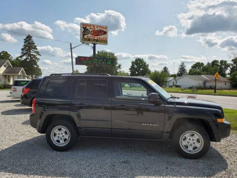 2016 Jeep Patriot for sale at MIKE'S CYCLE & AUTO in Connersville IN