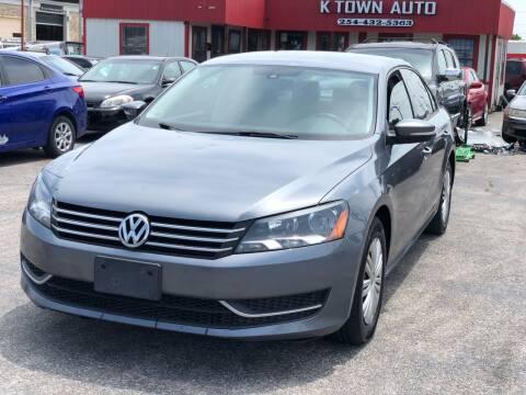 2015 Volkswagen Passat for sale at K Town Auto in Killeen TX