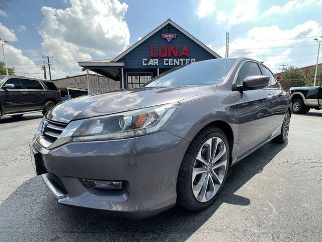 2014 Honda Accord for sale at LUNA CAR CENTER in San Antonio TX