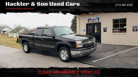 2005 Chevrolet Silverado 1500 for sale at Hackler & Son Used Cars in Red Lion PA