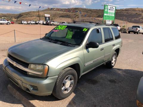 2004 Chevrolet TrailBlazer for sale at Hilltop Motors in Globe AZ