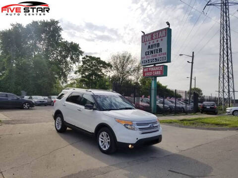 2011 Ford Explorer for sale at Five Star Auto Center in Detroit MI