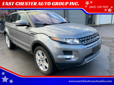 2013 Land Rover Range Rover Evoque for sale at EAST CHESTER AUTO GROUP INC. in Kingston NY