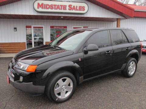 2004 Saturn Vue for sale at Midstate Sales in Foley MN