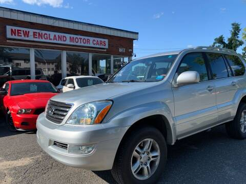 2004 Lexus GX 470 for sale at New England Motor Cars in Springfield MA