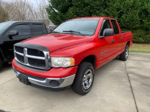 2005 Dodge Ram Pickup 1500 for sale at Getsinger's Used Cars in Anderson SC