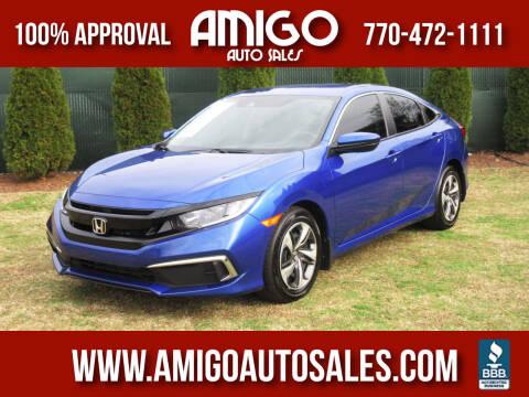 2019 Honda Civic for sale at Amigo Auto Sales in Marietta GA