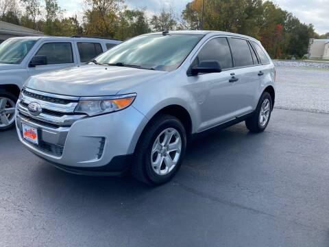 2014 Ford Edge for sale at McCully's Automotive - Under $10,000 in Benton KY