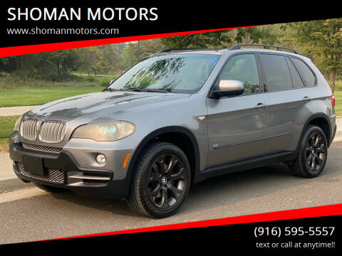 2007 BMW X5 for sale at SHOMAN MOTORS in Davis CA