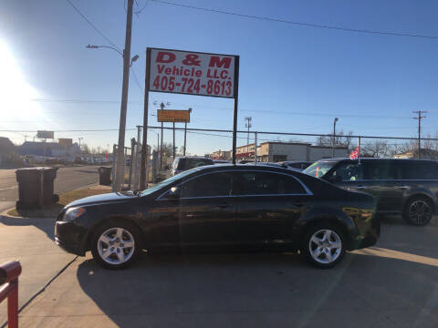 2012 Chevrolet Malibu for sale at D & M Vehicle LLC in Oklahoma City OK