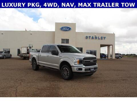 2018 Ford F-150 for sale at STANLEY FORD ANDREWS in Andrews TX
