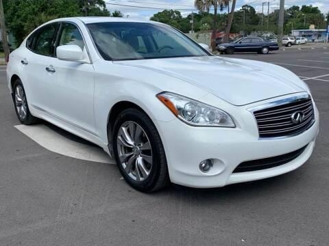 2012 Infiniti M37 for sale at Consumer Auto Credit in Tampa FL