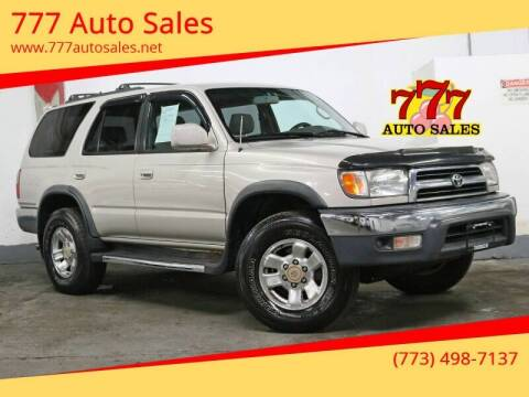 2000 Toyota 4Runner for sale at 777 Auto Sales in Bedford Park IL