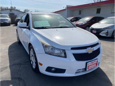 2013 Chevrolet Cruze for sale at Dealers Choice Inc in Farmersville CA