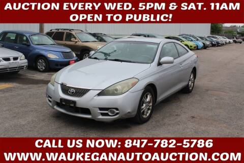 2007 Toyota Camry Solara for sale at Waukegan Auto Auction in Waukegan IL