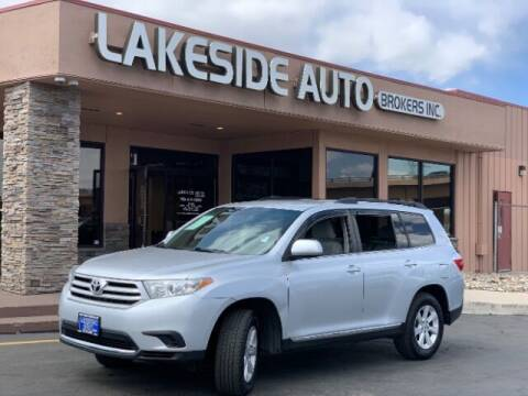 2012 Toyota Highlander for sale at Lakeside Auto Brokers Inc. in Colorado Springs CO