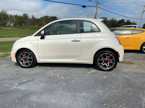 2012 FIAT 500 for sale at K & P Used Cars, Inc. in Philadelphia TN
