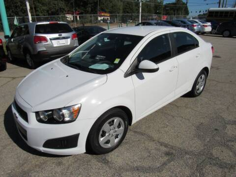 2014 Chevrolet Sonic for sale at King of Auto in Stone Mountain GA