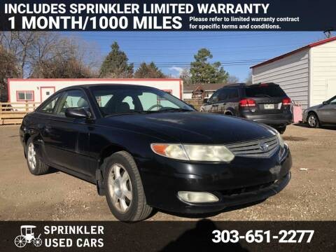 2003 Toyota Camry Solara for sale at Sprinkler Used Cars in Longmont CO