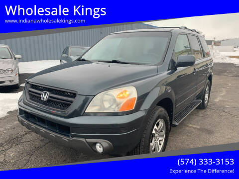 2003 Honda Pilot for sale at Wholesale Kings in Elkhart IN