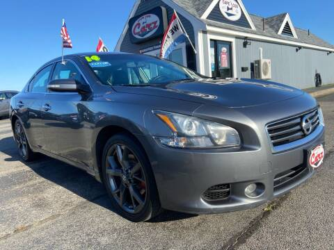 2014 Nissan Maxima for sale at Cape Cod Carz in Hyannis MA