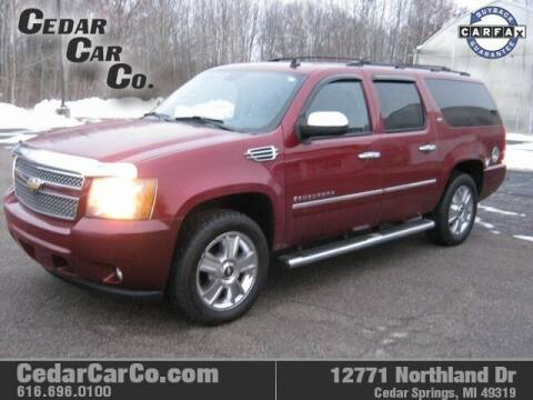 2009 Chevrolet Suburban for sale at Cedar Car Co in Cedar Springs MI