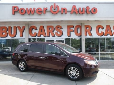 2013 Honda Odyssey for sale at Power On Auto LLC in Monroe NC