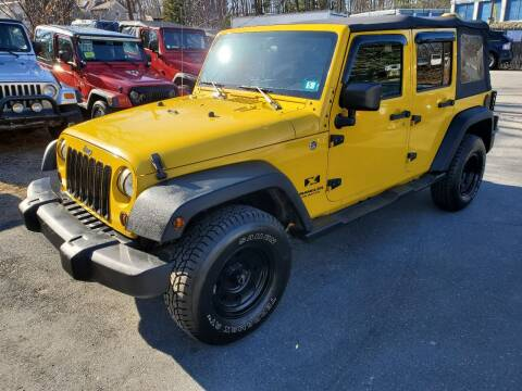 2008 Jeep Wrangler Unlimited for sale at MX Motors LLC in Ashland MA