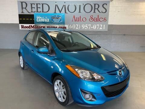 2011 Mazda MAZDA2 for sale at REED MOTORS LLC in Phoenix AZ