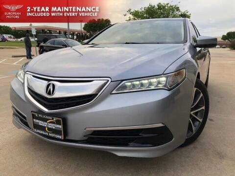 2015 Acura TLX for sale at European Motors Inc in Plano TX