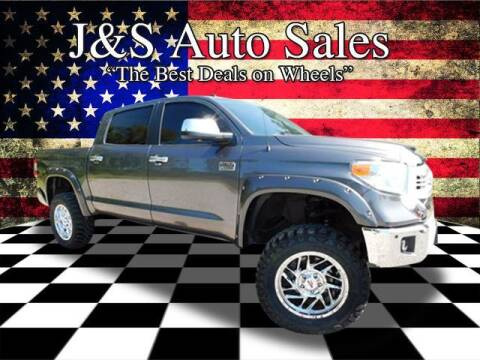 2014 Toyota Tundra for sale at J & S Auto Sales in Clarksville TN