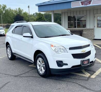 2015 Chevrolet Equinox for sale at Clapper MotorCars in Janesville WI