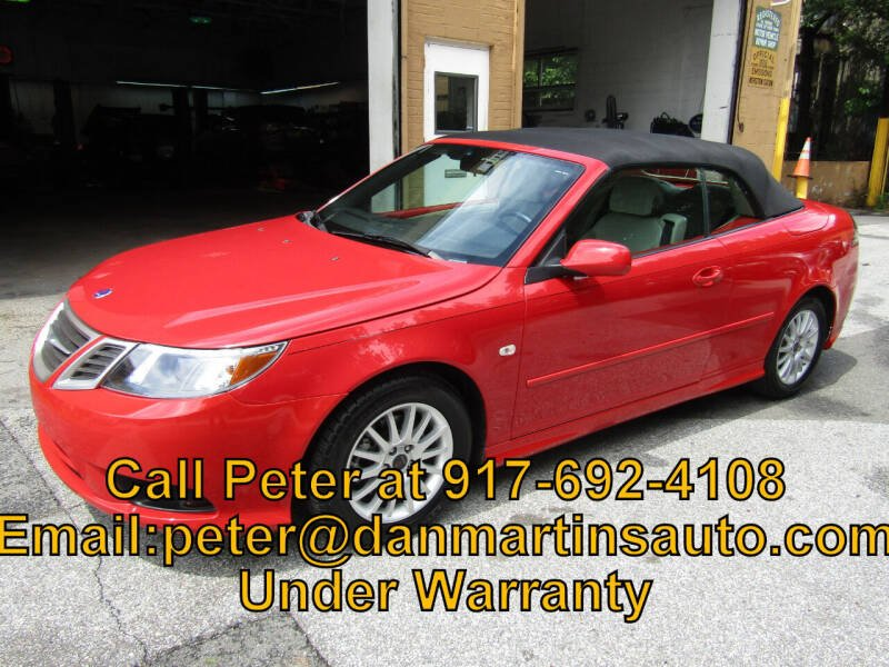 2008 Saab 9-3 for sale at Dan Martin's Auto Depot LTD in Yonkers NY