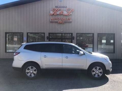 2017 Chevrolet Traverse for sale at K & L AUTO SALES, INC in Mill Hall PA