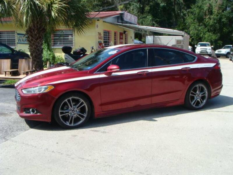 2013 Ford Fusion for sale at VANS CARS AND TRUCKS in Brooksville FL