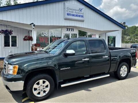 2013 GMC Sierra 1500 for sale at North Oakland Motors in Waterford MI
