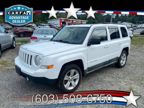 2011 Jeep Patriot for sale at J & E AUTOMALL in Pelham NH