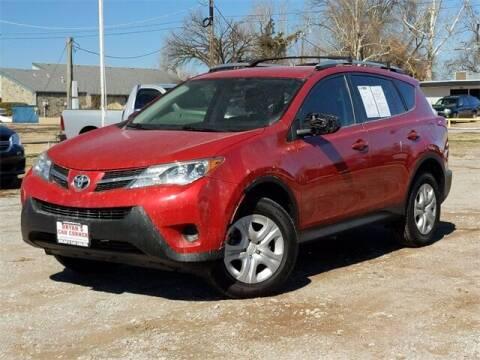2015 Toyota RAV4 for sale at Bryans Car Corner in Chickasha OK