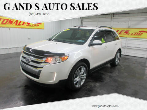 2012 Ford Edge for sale at G and S Auto Sales in Ardmore TN