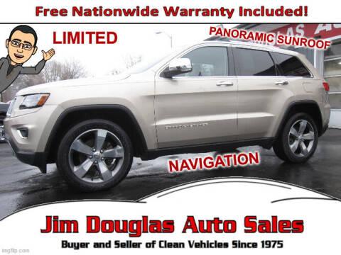 2014 Jeep Grand Cherokee for sale at Jim Douglas Auto Sales in Pontiac MI
