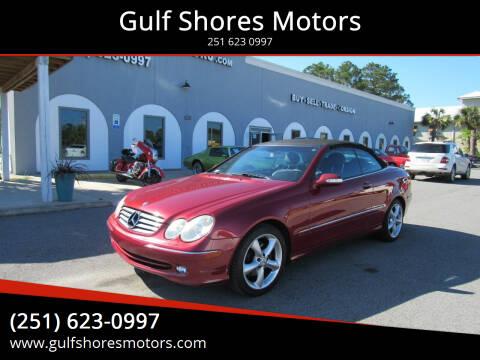 2005 Mercedes-Benz CLK for sale at Gulf Shores Motors in Gulf Shores AL