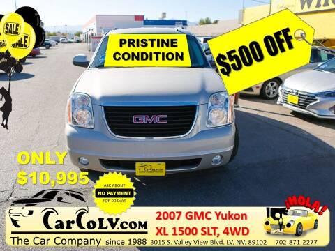 2007 GMC Yukon XL for sale at The Car Company in Las Vegas NV
